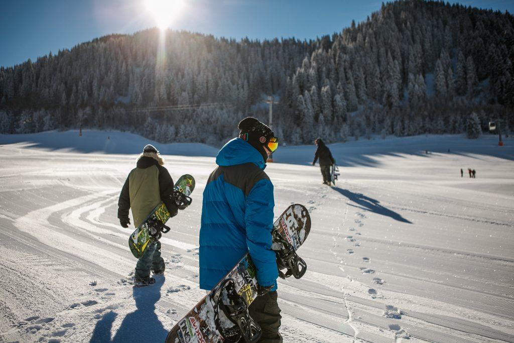 ski resort workers